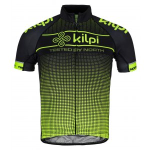 Pánský cyklo dres KILPI ENTERO-M KM0009KI ŽLUTÁ
