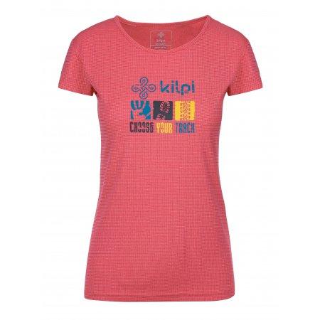 Dámské funkční triko KILPI GIACINTO-W KL0047KI RŮŽOVÁ