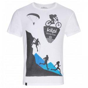 Pánské triko s krátkým rukávem KILPI TEMY-M KM0258KI BÍLÁ