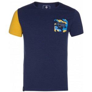 Chlapecké triko s krátkým rukávem KILPI VIVAN-JB KJ0084KI TMAVĚ MODRÁ