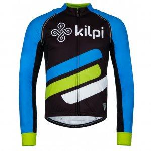 Pánská cyklistická bunda KILPI PALM-M KM0074KI MODRÁ