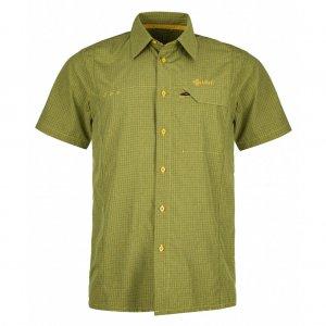 Pánská košile KILPI BOMBAY-M KM0151KI ŽLUTÁ