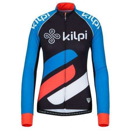 Dámský cyklistický dres KILPI RAPITA-W KL0076KI MODRÁ