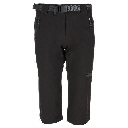 Dámské 3/4 kalhoty KILPI DALARNA-W KL0038KI ČERNÁ