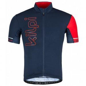 Pánský cyklo dres KILPI ELYON-M KM0203KI TMAVĚ MODRÁ