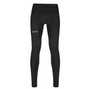 Pánské elastické kalhoty KILPI RUNNER-M KM0081KI ČERNÁ
