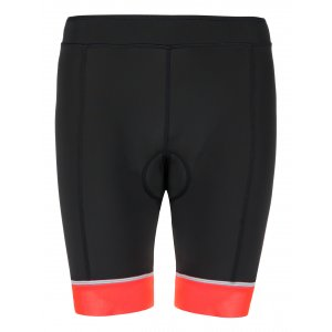 Dámské cyklistické šortky KILPI PRESSURE-W KL0110KI RŮŽOVÁ