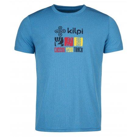 Pánské funkční triko KILPI GIACINTO-M KM0110KI MODRÁ