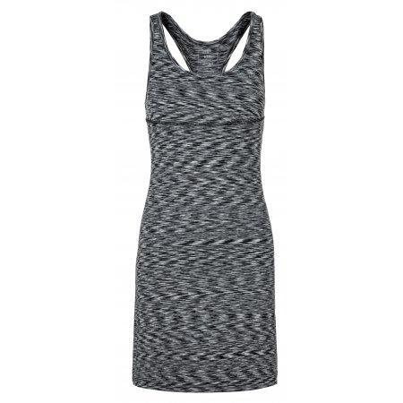 Dámské šaty KILPI SONORA-W KL0070KI SVĚTLE ŠEDÁ