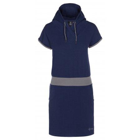 Dámské šaty KILPI MISSON-W KL0160KI TMAVĚ MODRÁ