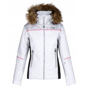 Dámská zimní bunda KILPI HENESIE-W LL0023KI BÍLÁ