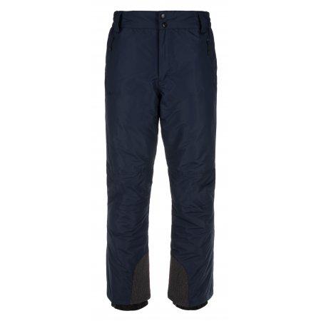 Pánské zimní kalhoty KILPI GABONE-M LM0047KI TMAVĚ MODRÁ