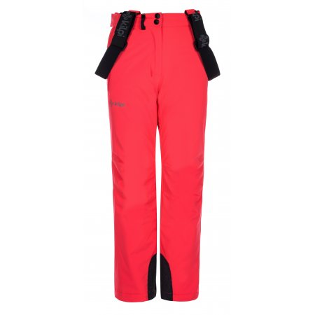Dívčí zimní kalhoty KILPI EUROPA-JG LJ0006KI RŮŽOVÁ