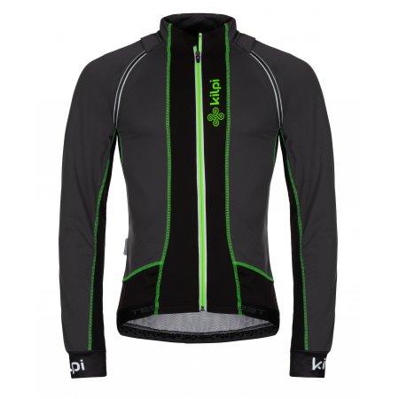Pánská sportovní bunda/vesta KILPI ZAIN-M LM0051KI TMAVĚ ŠEDÁ