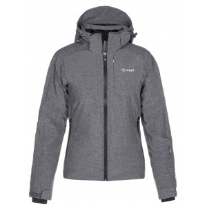 Dámská zimní bunda KILPI MAANIA-W LL0032KI TMAVĚ ŠEDÁ