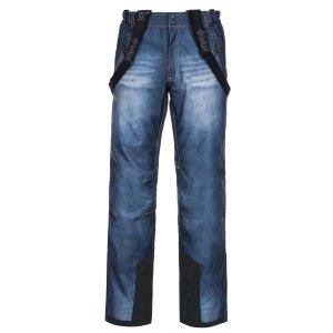 Pánské zimní kalhoty KILPI DENIMO-M LM0040KI MODRÁ