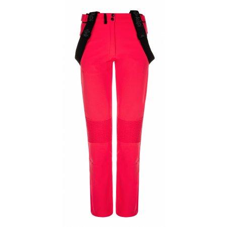 Dámské zimní softshellové kalhoty KILPI DIONE-W LL0029KI RŮŽOVÁ