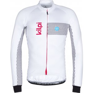 Pánský cyklistický dres KILPI CAMPOS-M LM0059KI BÍLÁ
