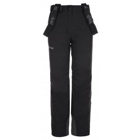 Dívčí lyžařské kalhoty KILPI EUROPA-JG LJ0006KI ČERNÁ
