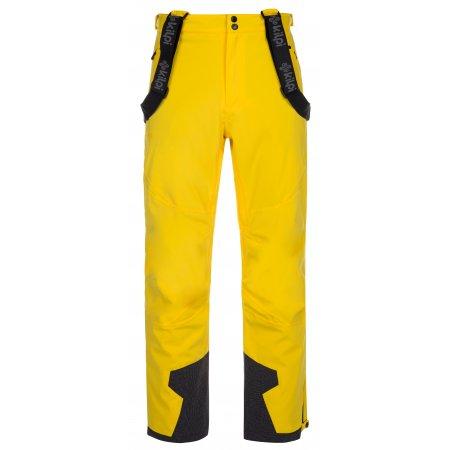 Pánské zimní kalhoty KILPI REDDY-M LM0026KI ŽLUTÁ