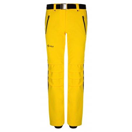 Dámské zimní kalhoty KILPI HANZO-W LL0039KI ŽLUTÁ