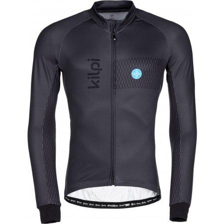 Pánský cyklistický dres KILPI CAMPOS-M LM0059KI TMAVĚ ŠEDÁ