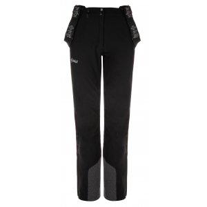 Dámské zimní softshellové kalhoty KILPI RHEA-W LL0093KI ČERNÁ