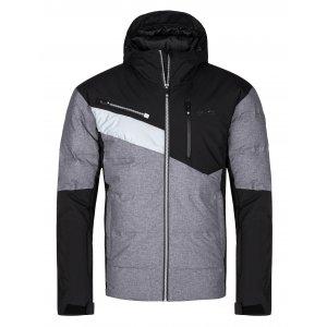 Pánská zimní bunda KILPI TEDDY-M LM0036KI TMAVĚ ŠEDÁ