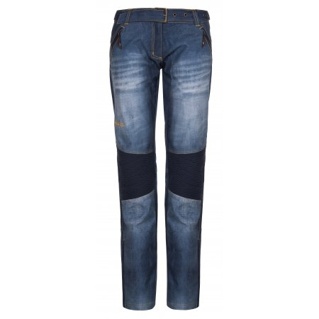 Dámské zimní kalhoty KILPI JEANSO-W LL0030KI MODRÁ