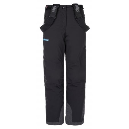 Dětské zimní kalhoty KILPI TEAM PANTS-J LJ0077KI ČERNÁ