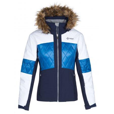 Dámská zimní bunda KILPI ELZA-W LL0019KI TMAVĚ MODRÁ