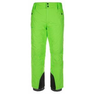 Pánské zimní kalhoty KILPI GABONE-M LM0047KI ZELENÁ