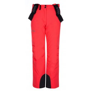 Dívčí zimní kalhoty KILPI ELARE-JG LJ0007KI RŮŽOVÁ