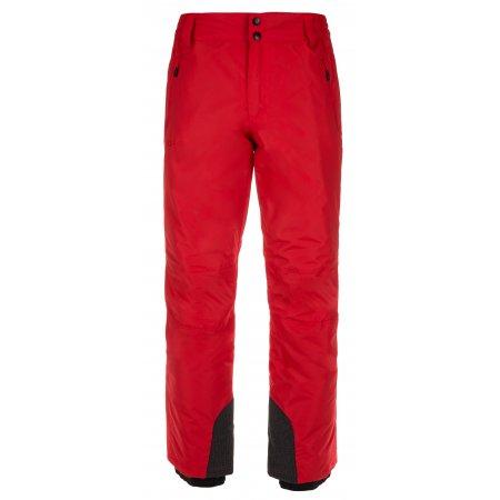 Pánské zimní kalhoty KILPI GABONE-M LM0047KI ČERVENÁ