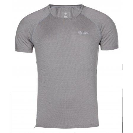 Pánské funkční triko KILPI DIMARO-M MM0056KI SVĚTLE ŠEDÁ
