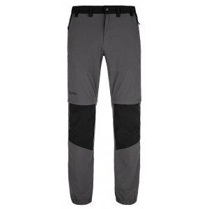 Pánské kalhoty KILPI HOSIO-M MM0024KI TMAVĚ ŠEDÁ