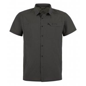 Pánská košile KILPI BOMBAY-M MM0019KI ŠEDÁ