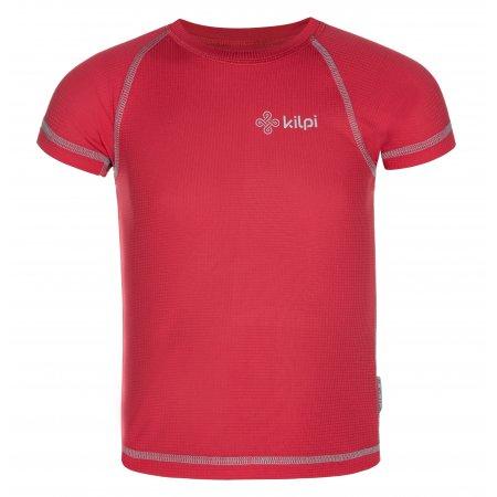 Dívčí funkční triko KILPI TECNI-JG MJ0028KI RŮŽOVÁ