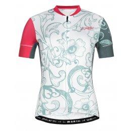 Dámský cyklistický dres KILPI ORETI-W ML0041KI SVĚTLE MODRÁ