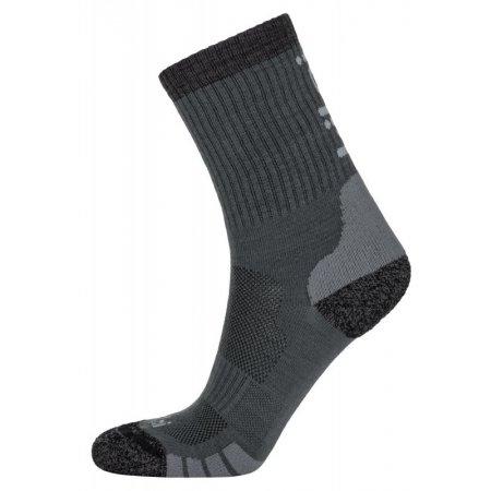 Ponožky KILPI MERLIN-U MU0026KI TMAVĚ ŠEDÁ