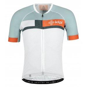 Pánský cyklistický dres KILPI TREVISO-M MM0040KI BÍLÁ