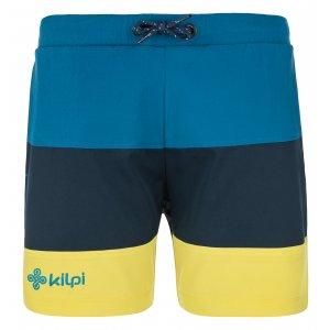 Chlapecké šortky KILPI SWIMY-JB MJ0018KI TMAVĚ MODRÁ