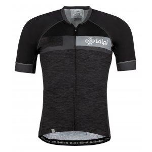 Pánský cyklistický dres KILPI TREVISO-M MM0040KI TMAVĚ ŠEDÁ