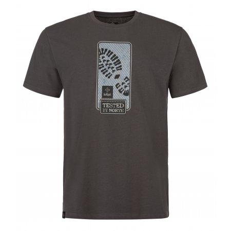 Pánské triko KILPI BOOTY-M MM0088KI TMAVĚ ŠEDÁ