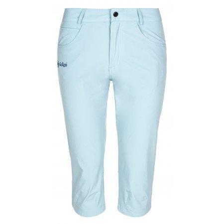 Dámské 3/4 kalhoty KILPI TRENTA-W ML0029KI SVĚTLE MODRÁ