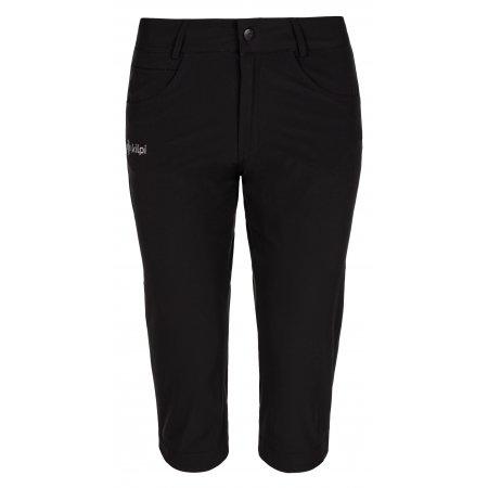 Dámské 3/4 kalhoty KILPI TRENTA-W ML0029KI ČERNÁ