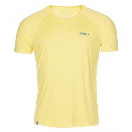 Pánské funkční triko KILPI DIMARO-M MM0056KI ŽLUTÁ