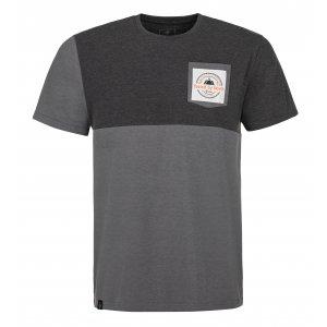 Pánské triko KILPI MELANG-M MM0089KI TMAVĚ ŠEDÁ