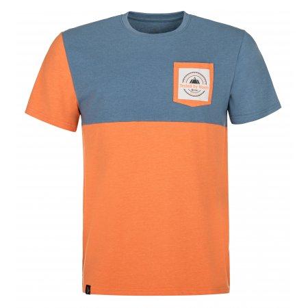 Pánské triko KILPI MELANG-M MM0089KI ORANŽOVÁ
