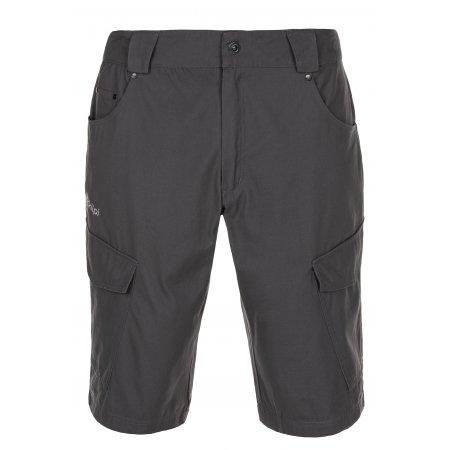 Pánské šortky KILPI BREEZE-M MM0081KI TMAVĚ ŠEDÁ